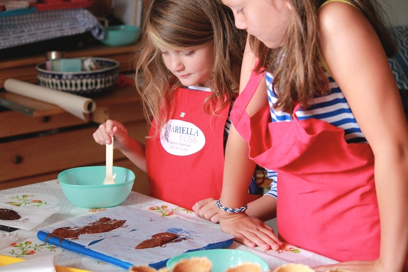 Chocolate cookery class
